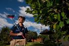 Mohney Hodge has been working hard to keep Rotorua beautiful. Photo / Ben Fraser