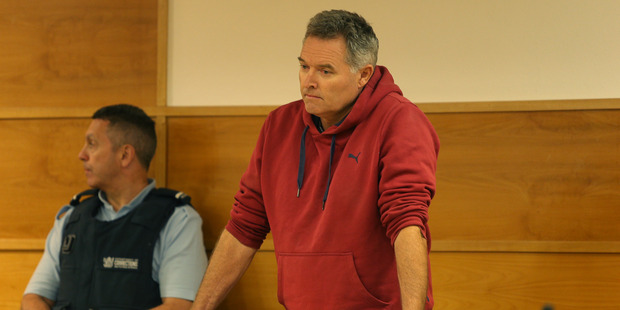 Ewan Malcolm Campbell who appeared in Tauranga District Court today for sentence on 59 tax evasion offences. Photo/John Borren.