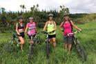 Renske van den Brink, Sonya Horne, Maria O'Kane and Marit Shaw will compete in the Spirited Women Adventure Race as team Victorious Secret.