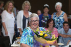 A celebration was held for Valma Hallam yesterday after she received a QSM earlier in the year. Photo / John Borren