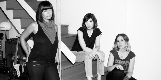 American rock band , Sleater Kinney.
