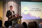 ACT Party leader David Seymour at the ACT Party conference in Orakei. Photo / Jason Oxenham