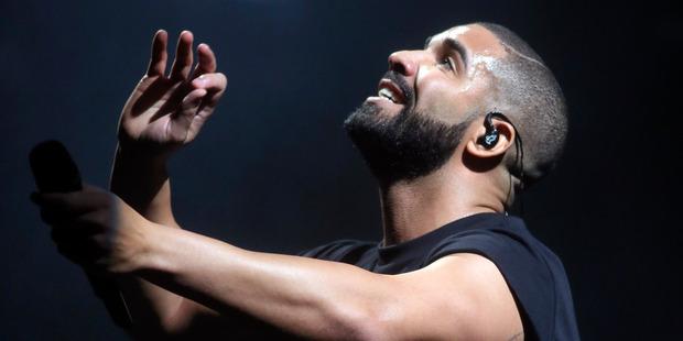 Canadian rapper Drake.