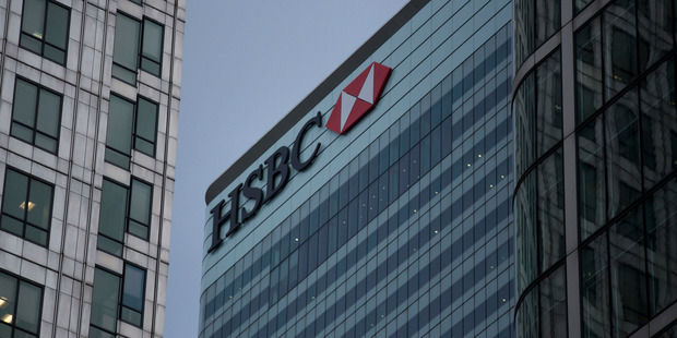 HSBC will launch the banking results season tomorrow by announcing £2.7 billion as a final dividend. Photo / AP