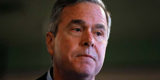 Jeb Bush has ended his bid for the Republican nomination for president. Photo / AP