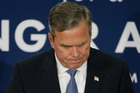 Jeb Bush announced he was pulling out of the fight to win the Republican presidential nomination. Photo / AP