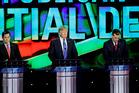 Republican presidential primary debate at The University of Houston. Photo / David J. Phillip