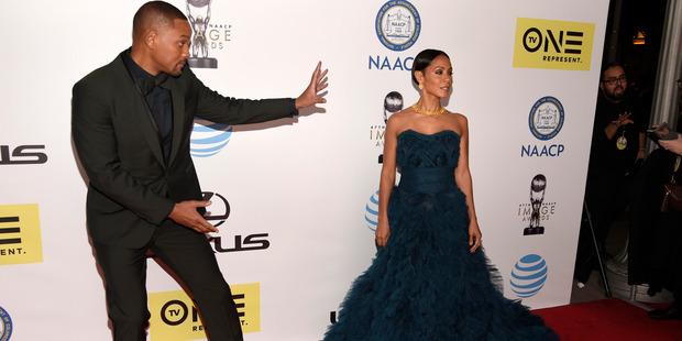 Will Smith and Jada Pinkett Smith. Photo / AP