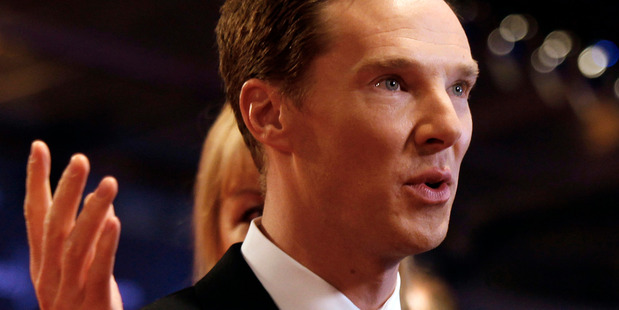 The play's object of obsession,Brit actor Benedict Cumberbatch (AP)