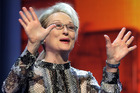 US actress Meryl Streep. Photo / AP