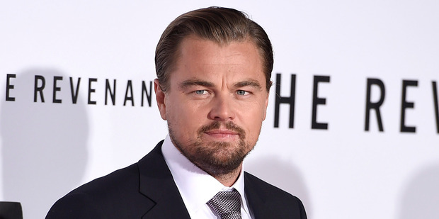 Leonardo DiCaprio is nominated for an Oscar for is work in the movie The Revenant. Photo / AP