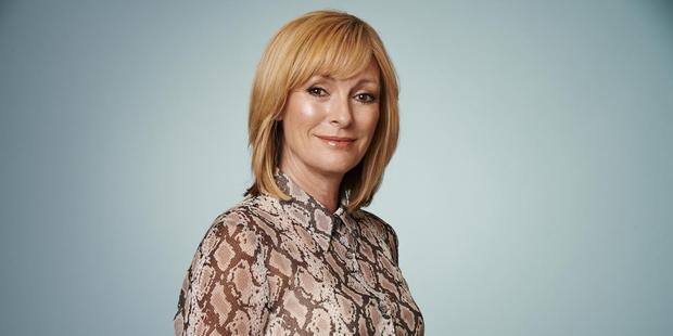 Broadcaster Susan Wood.