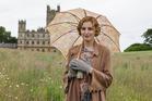 Laura Carmichael as Lady Edith Crawley In Downton Abbey.