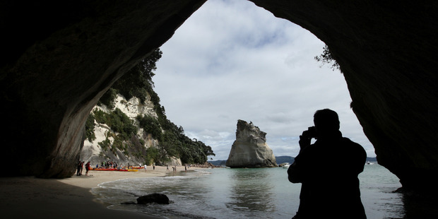 The Coromandel was the most popular location for Kiwis over the peak holiday season. Photo / Alan Gibson