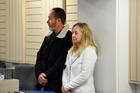 Tauranga couple Grant Brennan and Lorraine Brennan in Tauranga District Court.