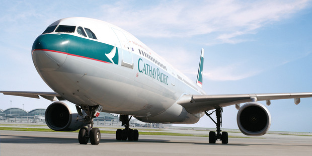 The woman travelled with Cathay Pacific when she should have been on Hong Kong Airlines. Photo / Supplied
