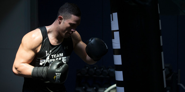 Joseph Parker yesterday announced Carlos Takam would be the opponent for his next fight. Photo / Nick Reed