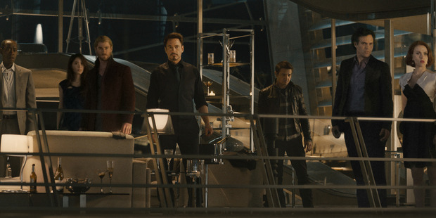 Marvel's Avengers is another film that uses a group of superheros to capture the viewers interest. Photo / Supplied