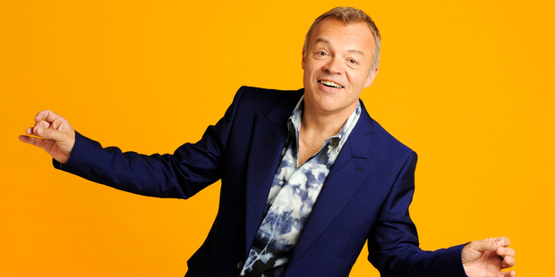 Graham Norton, host of The Graham Norton Show.