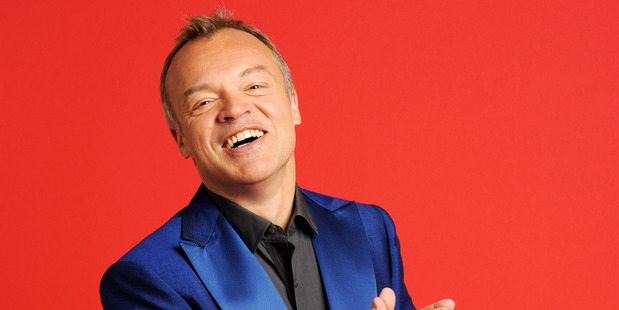 TV personality Graham Norton.