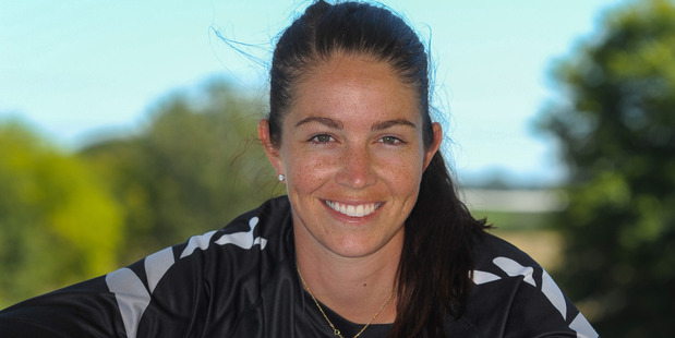 BMX rider Sarah Walker has broken her arm to throw into doubt her Olympic preparation. Photo / NZME