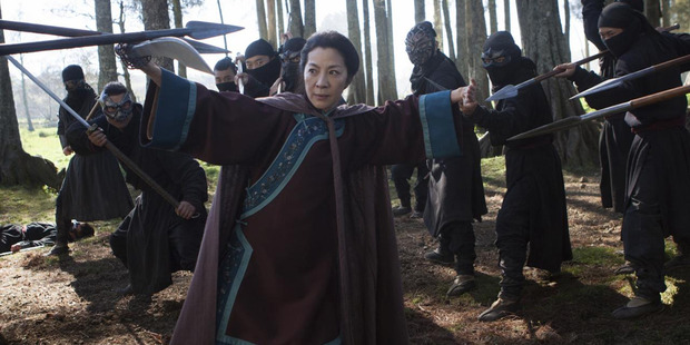 Loading The Crouching Tiger, Hidden Dragon sequel will make its NZ debut this Friday.