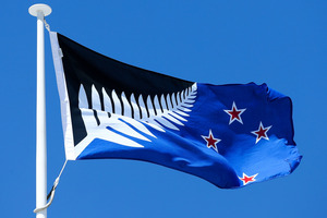 The alternative New Zealand flag could be under attack if it is flown from the Elizabeth St flag pole.