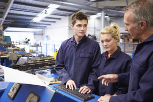 The rising cost of university education has led some young people to favour an apprenticeship over a degree. PHOTO GETTY