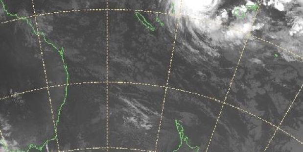 Loading The tropical cyclone is forecast to head south towards New Zealand over the next few days. Photo / MetService