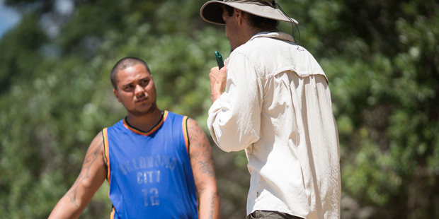 Lloyd Morgan and Andreas Amador working on the project. Photo / Jonathan Clark
