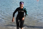 Lynmore's Kaye King learnt to swim in March last year and is taking on Legend of the Lake this weekend.