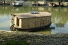 Adapting to climate change in Bangladesh - a school boat made by non-profit Shidhulai Swanirvar Sangstha. Image / www.shidulai.org