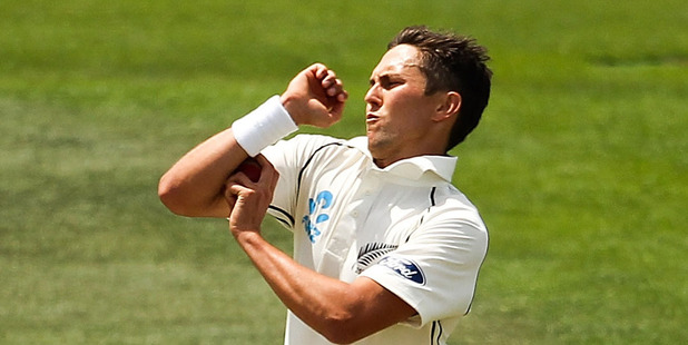 Trent Boult and the New Zealand bowlers failed to produce reverse swing like their Australian counterparts. Photo / Getty