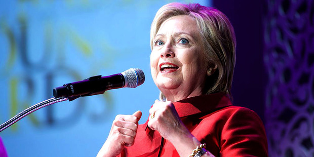 Hillary Clinton. Photo / Getty Images