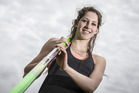 Pole vaulter Eliza McCartney.