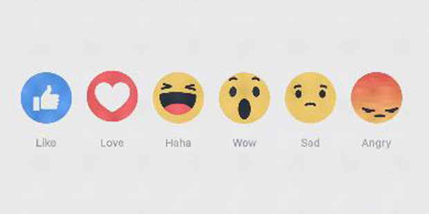 Loading You can now feel more than one emotion about a Facebook post.