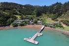 Kingfish Lodge on the Whangaroa Harbour is up for sale.