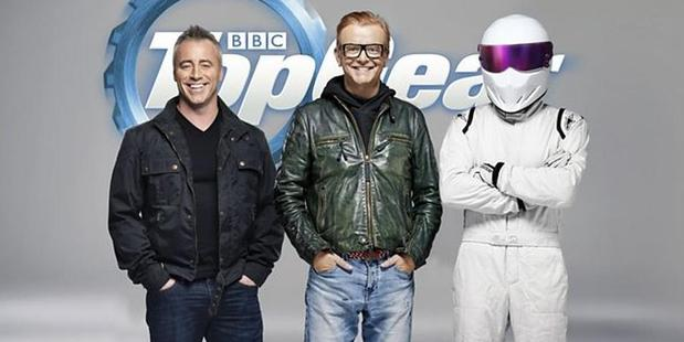 New Top Gear hosts Matt LeBlanc and Chris Evans.