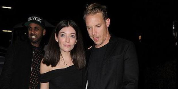 Lorde and DJ/producer Diplo were spotted getting close on the way to a BRITS after party. Photo / Twitter