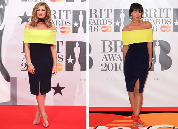 Jessica Wright and Maya Jama turned up in the same dress. Photos / Getty Images