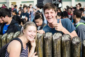 Orientation week is a great way to learn about the institution you're studying in. Pic University of Auckland.