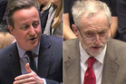 British PM David Cameron and Labour leader Jeremy Corbyn have exchanged mean blows in Parliament.