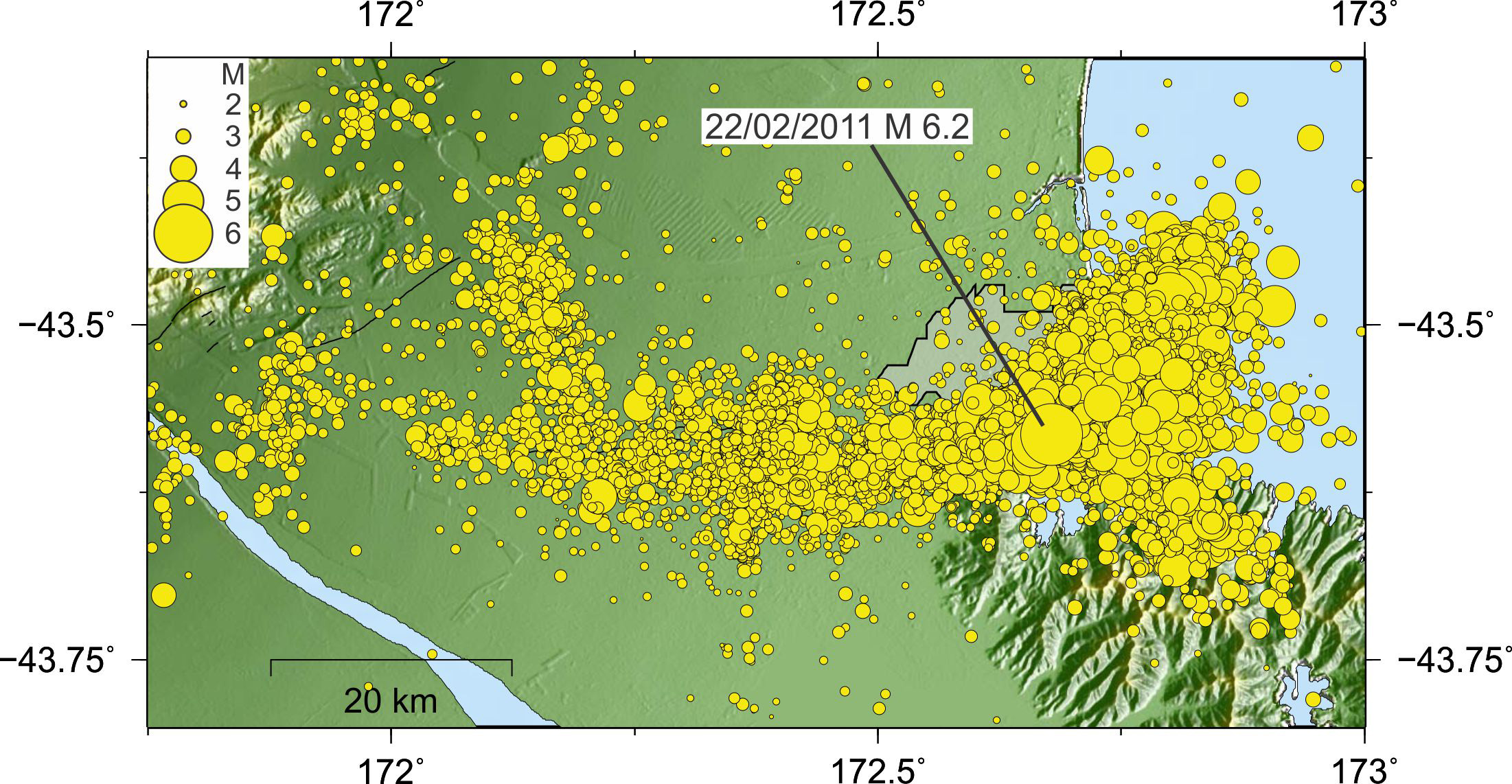 More than 10,000 quakes have rattled Christchurch since February 22, 2011.