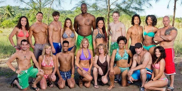 Survivor's contestants are usually buff, good-looking and aged between 20 and 35.