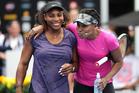 Serena and Venus Williams. Photo / Doug Sherring