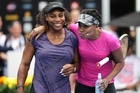 Tennis ASB Classic Day Out for Kaikoura in Auckland today . Pictured is Serena Williams with sister Venus Williams. 01 January 2017 New Zealand Herald Photograph by Doug Sherring