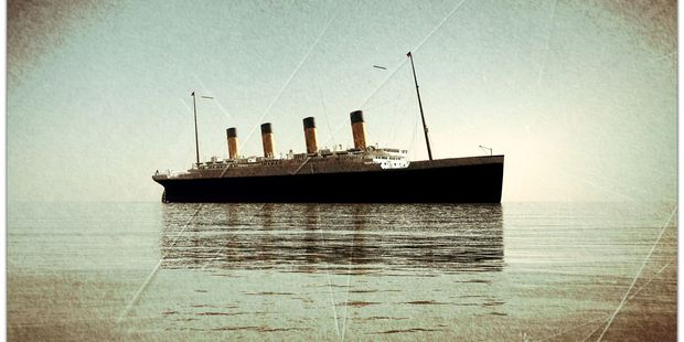 The Titanic went down with the loss of more than 1500 lives on April 15, 1912 . Photo / 123rf