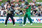New Zealand Blackcaps v Bangladesh, International Cricket, 1st T20, McLean Park, Napier, New Zealand. Photo / Photosport.nz