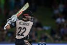 New Zealand's captain Kane 'Willamson' plays a shot. Photosport