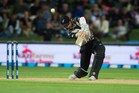 Captain Kane Williamson posted 73 not out from 55 balls, his highest score in the international format. Photosport